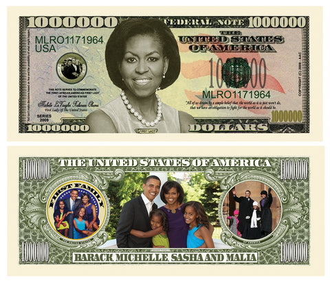 Image of Michelle Obama Note