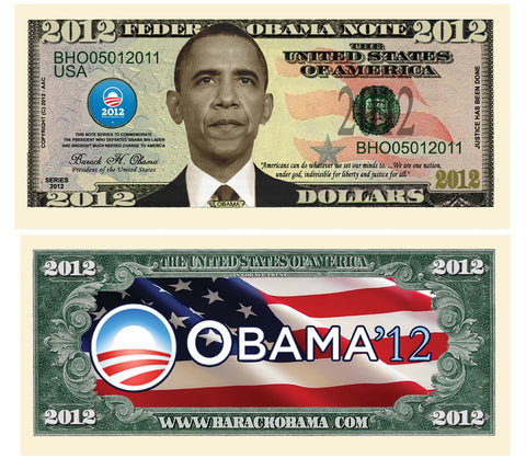 Image of Obama 2012 Bill