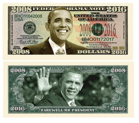 Image of Obama 2008-2016 Bill