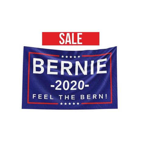 Bernie Sanders Feel The Bern 2020 Flag