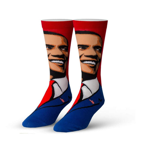 Image of Barack Obama Crew Socks