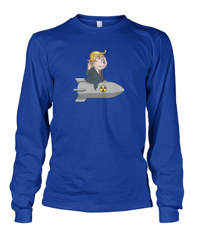 Image of Trump Bomb Long Sleeve