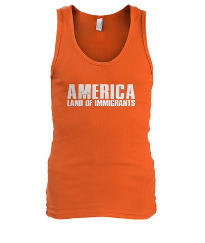 Image of America Land Of Immigrants Tank