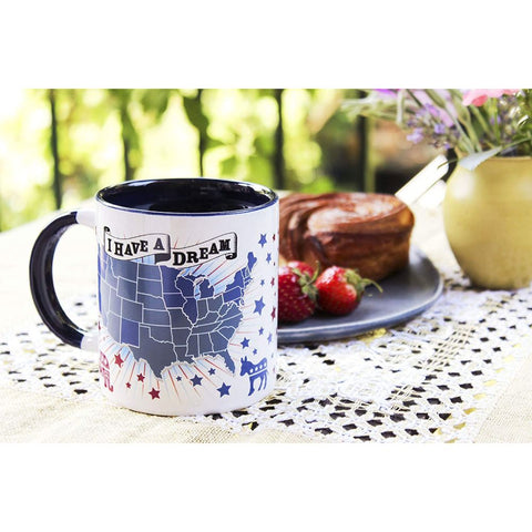 Image of Democratic Dream Heat Changing Mug