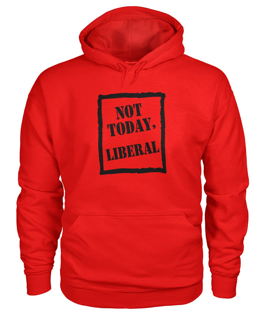 Not Today Liberal Hoodie