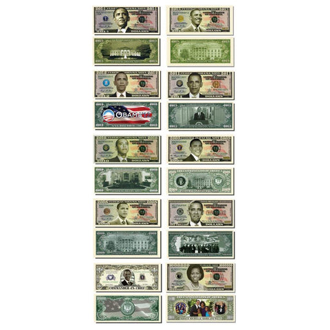 Obama 10 Bill Collectors Set