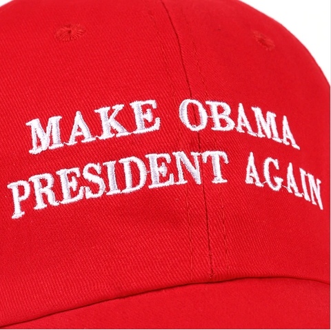 Image of Make Obama President Again Hat
