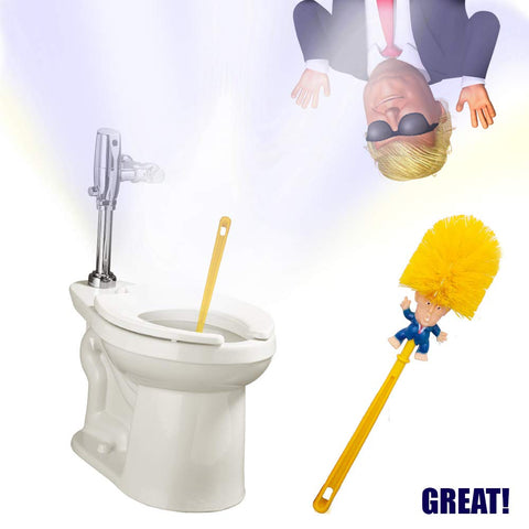 Image of Trump Toilet Scrubber