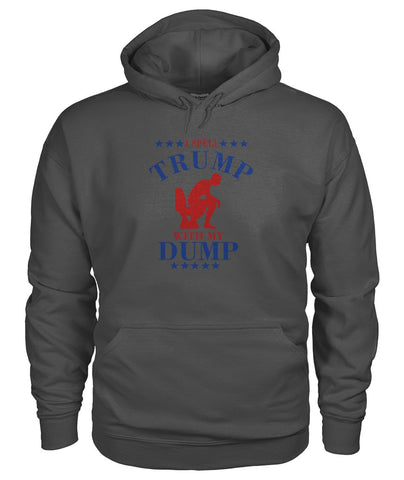 Image of I Spell Trump With My Dump Hoodie