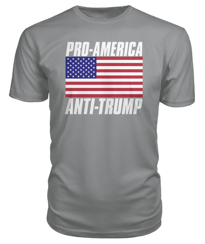 Image of Pro-America Anti-Trump Premium Tee