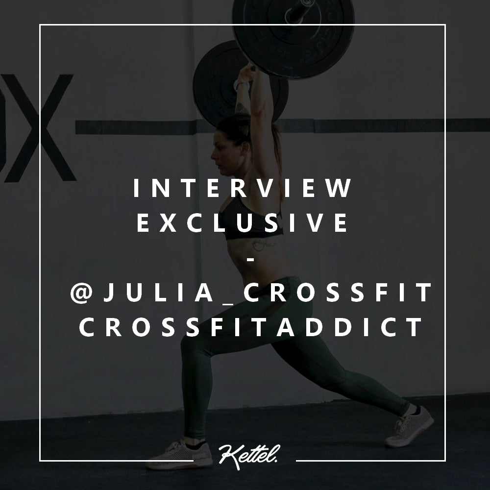 interview exclusive Julia crossfiteuse crossfit addict crossfitgirl la passion du crossfit