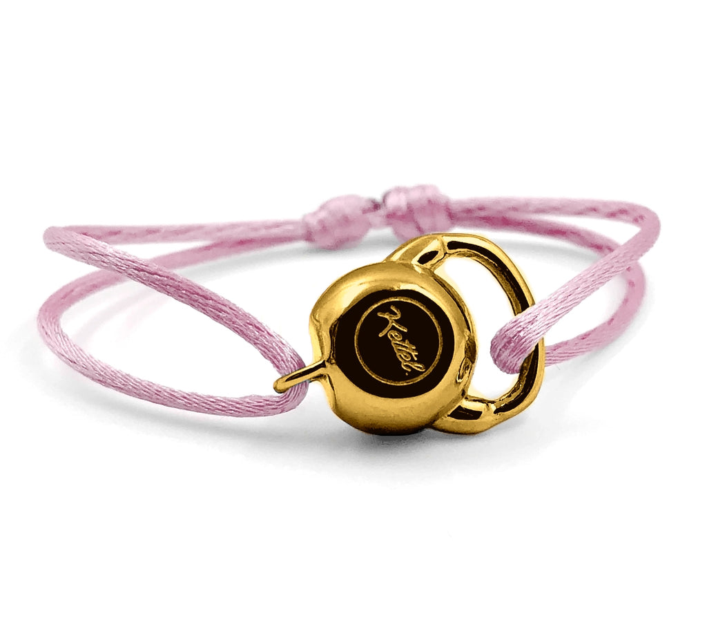 KETTLEBELL GOLD - LE SHINY ROSE PALE