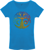 Yggdrasil, Rainbow tree T-Shirt Ladies