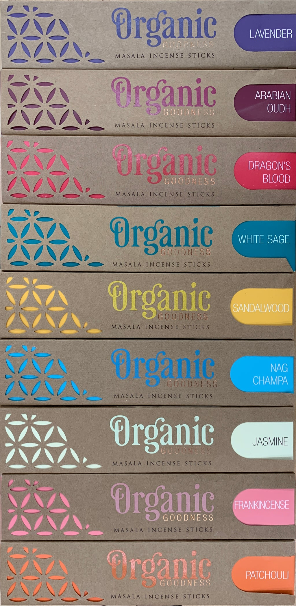 Organic Goodness - Masala Incense Sticks
