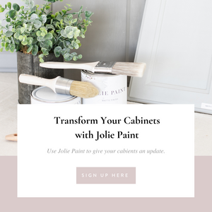Transform Your Cabinets with Jolie Paint
