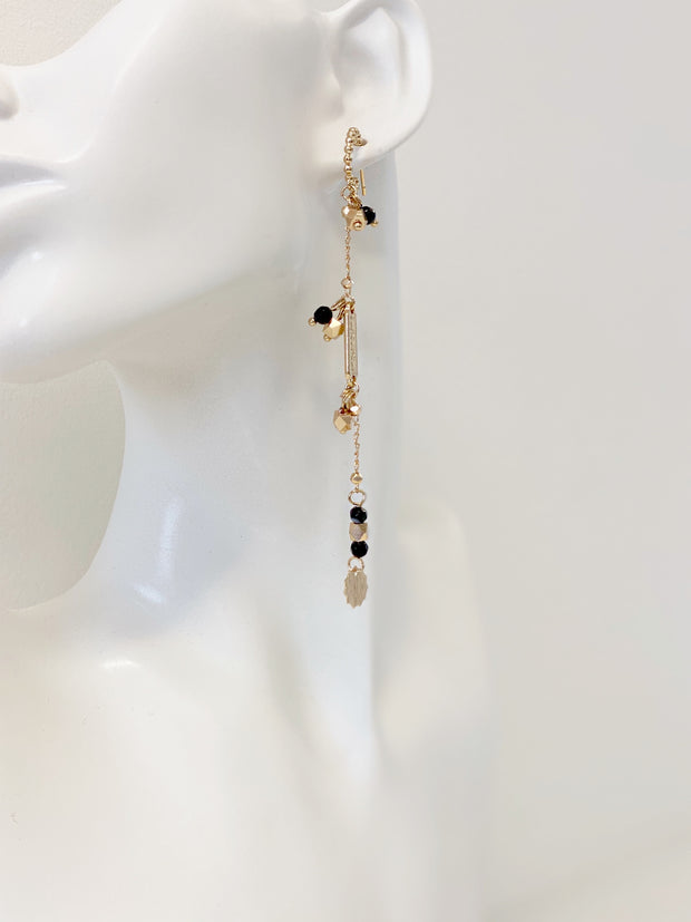 Geneva Agate Drop Earrings | Gold