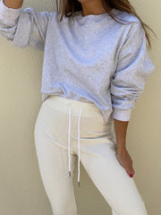 Lois French-Terry On Repeat Jogger | White