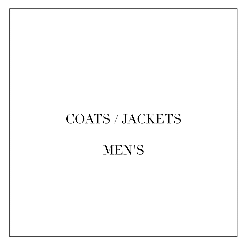 COATS / JACKETS FOR MEN'S