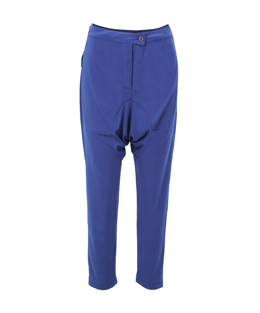 Cobalt blue trousers