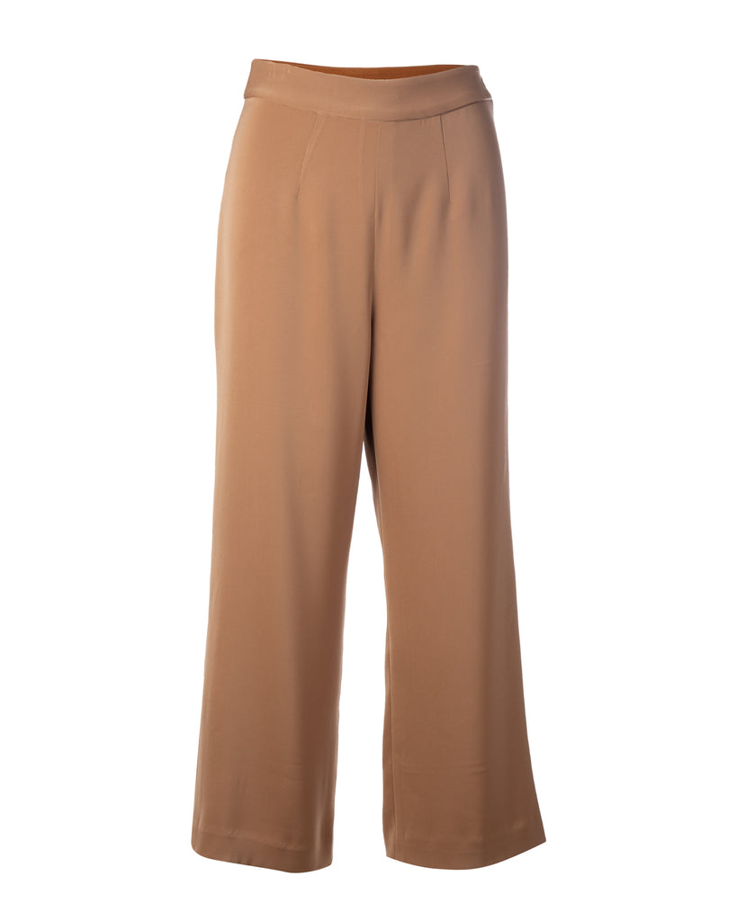 Camel brown capri pants