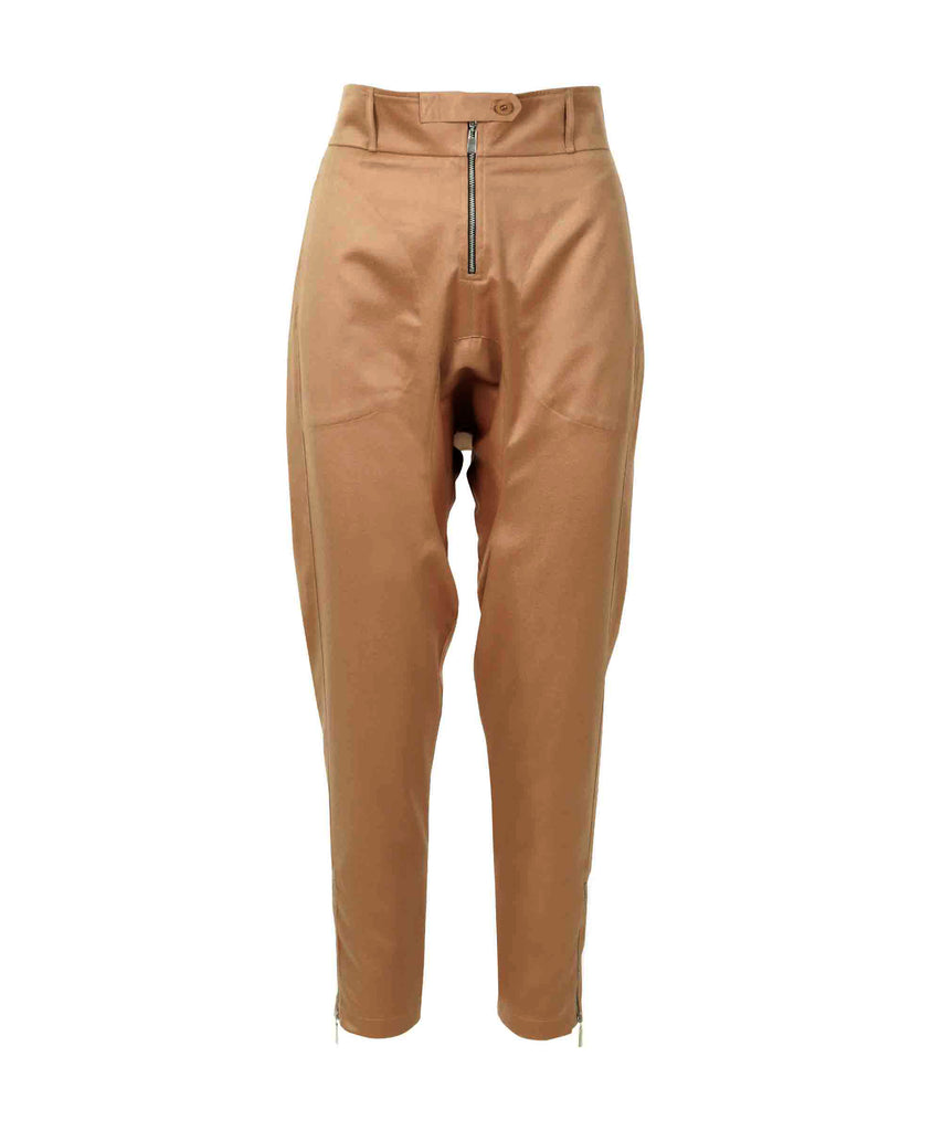 Camel casual trousers