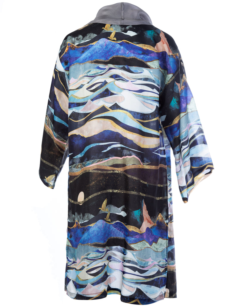 Two world Silk Kimono (Limited Piece)