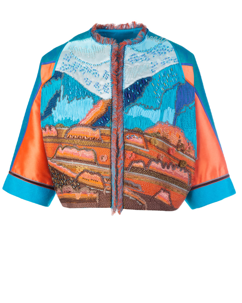 Embellished of hills jacket (limited)