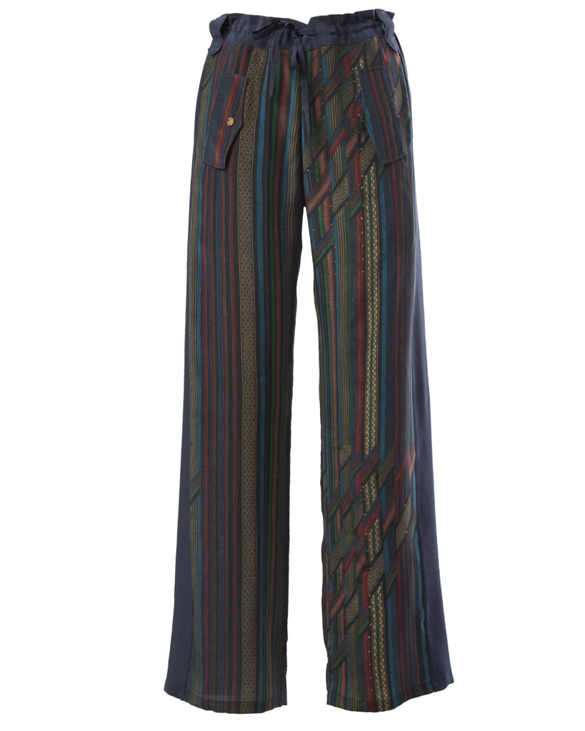 Multicolor North-Eastern stripe pants