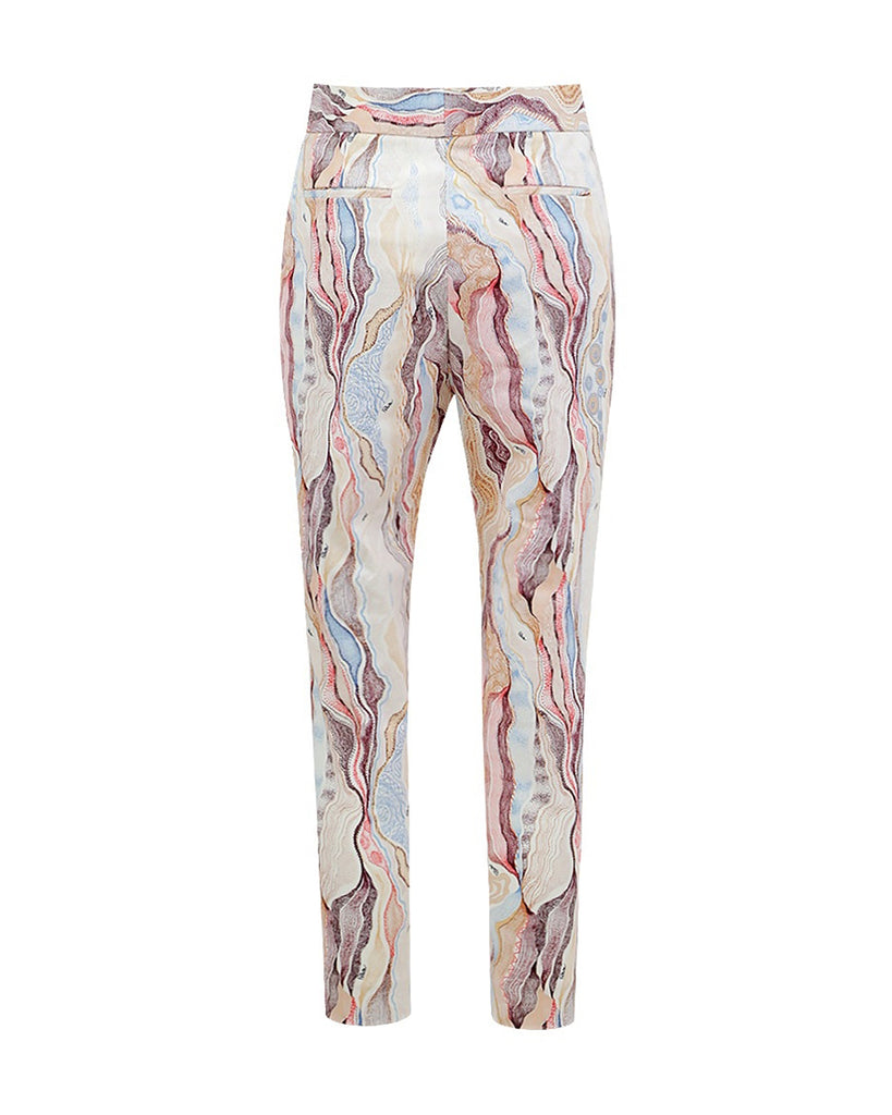 Marble Cream Dave Pants