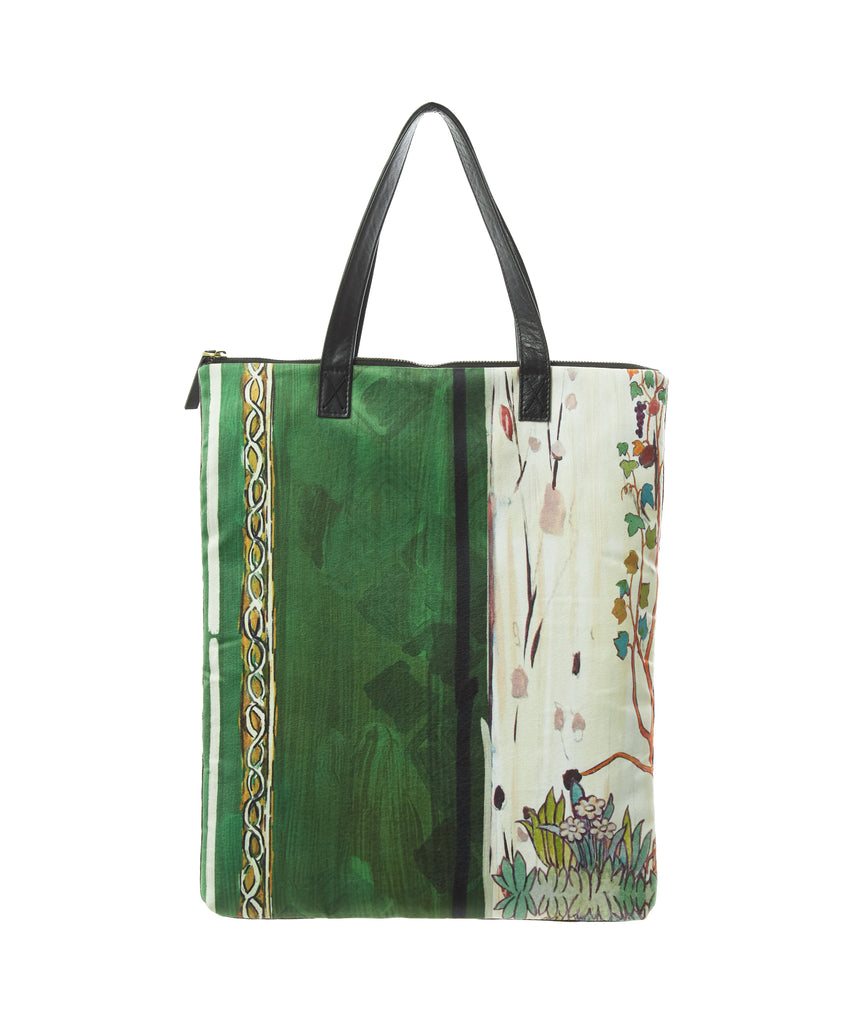 Natural Print Tote Bag