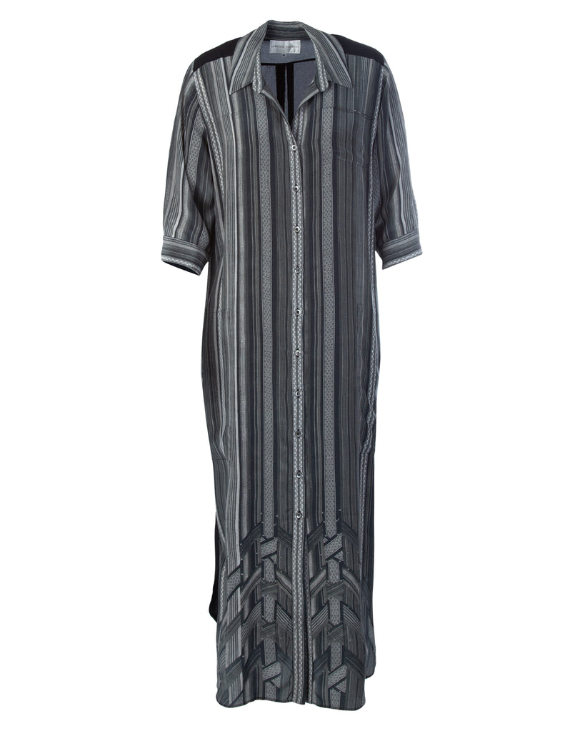 North Eastern maxi shirt dress