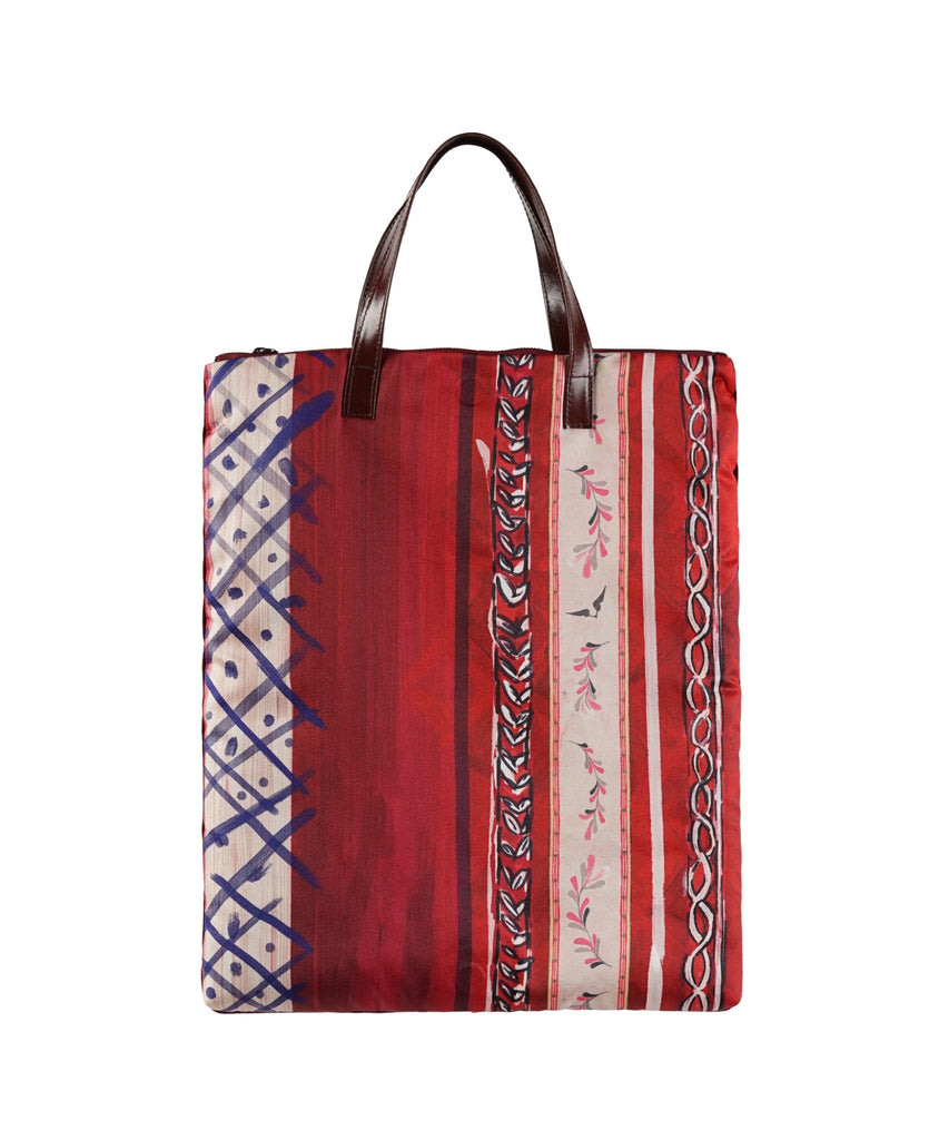 Red Matisse Print Tote Bag