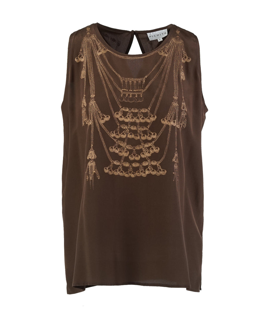 Thai Silk Tank Top