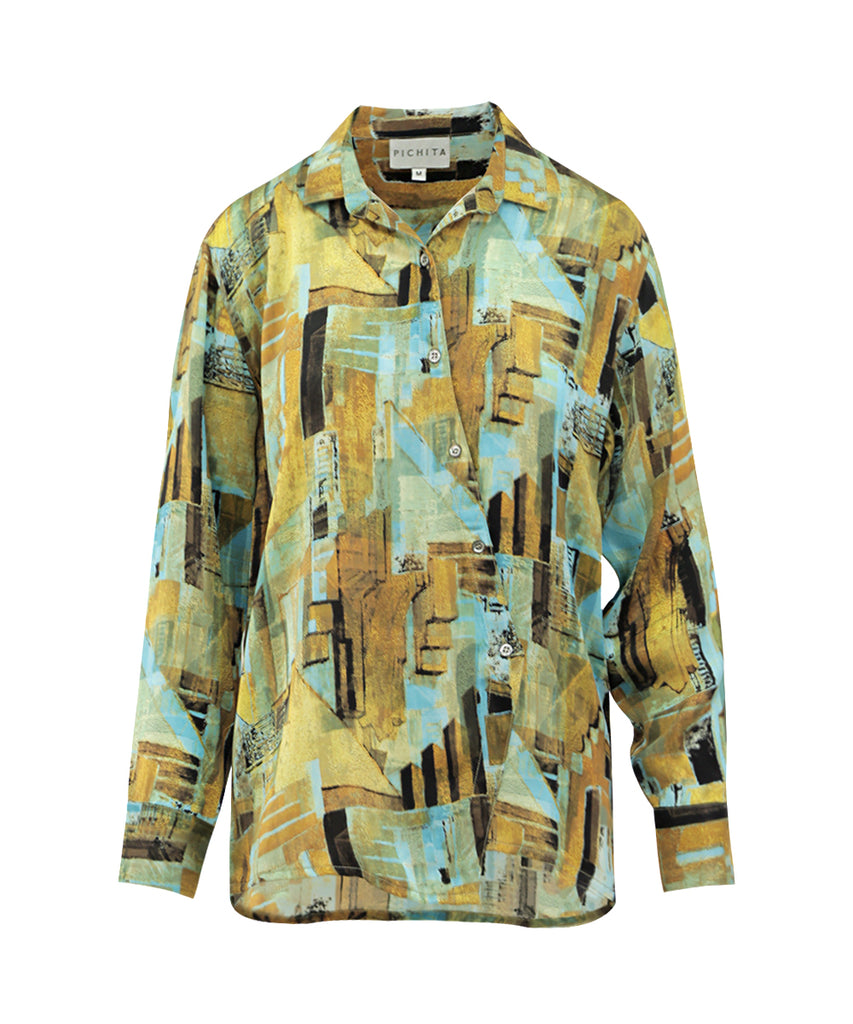 Mystical Golden Hour long sleeves shirt