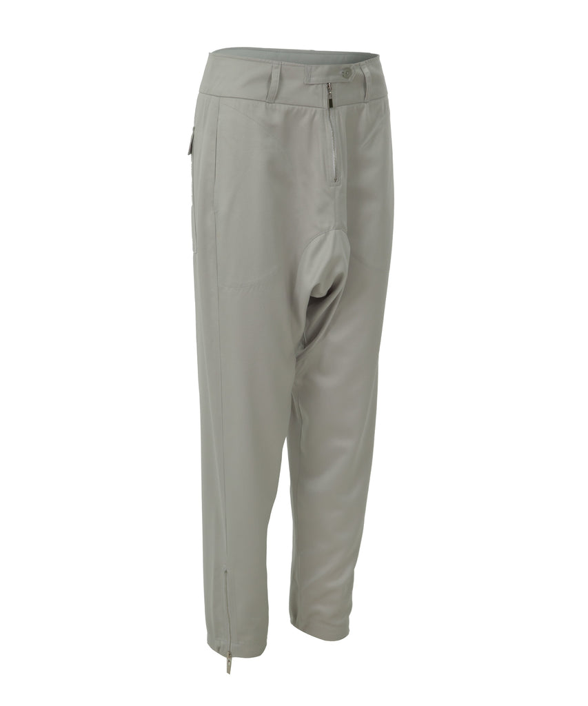 Tapered-leg trousers