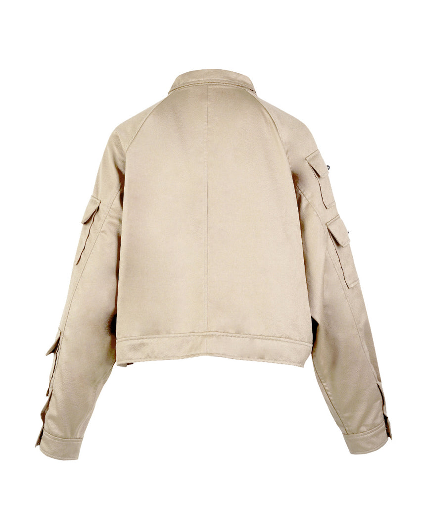 White Gold Embossed Jacket
