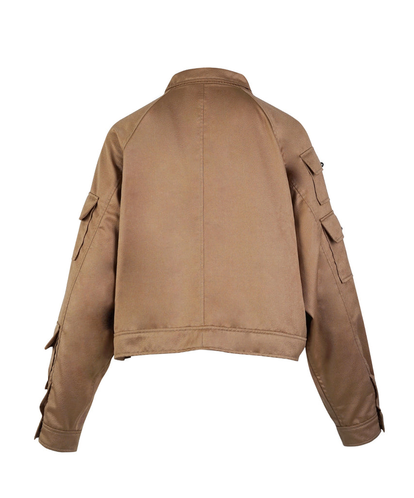Bronze Embossed Jacket