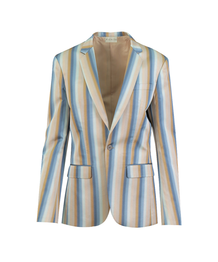 STRIPES SUIT JACKET