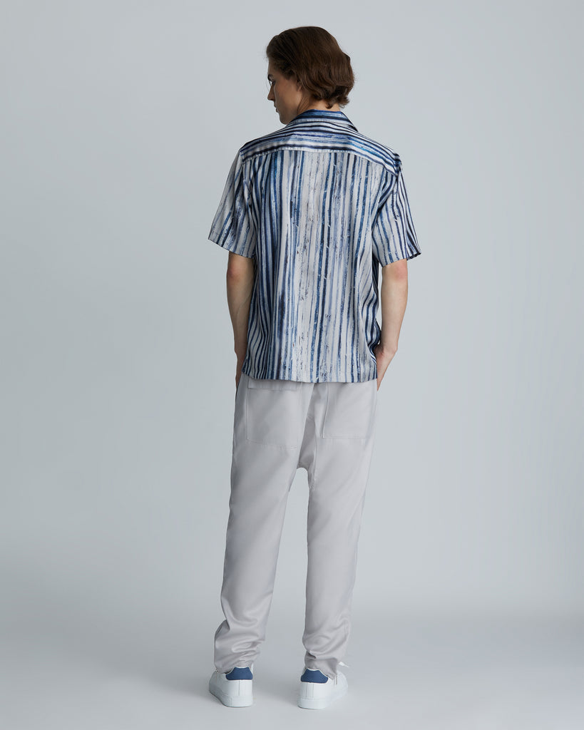 High rise tapered above ankled pants