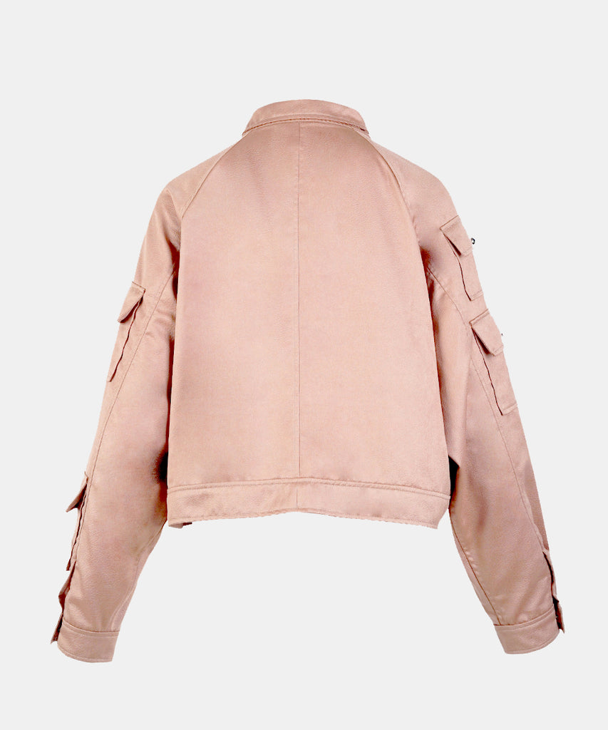 Rose Gold Embossed Jacket