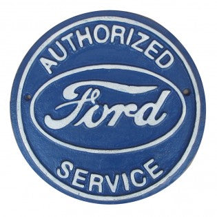 Ford Cast Iron Sign