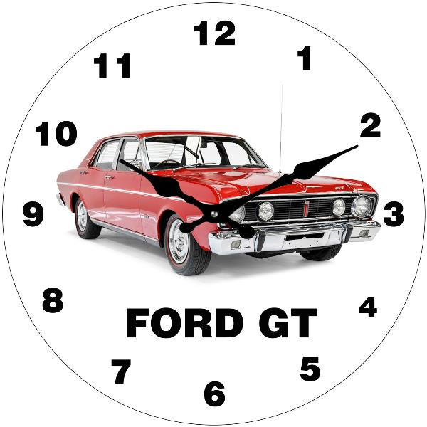 Ford GT Wall Clock