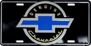 Genuine Chevrolet Number Plate