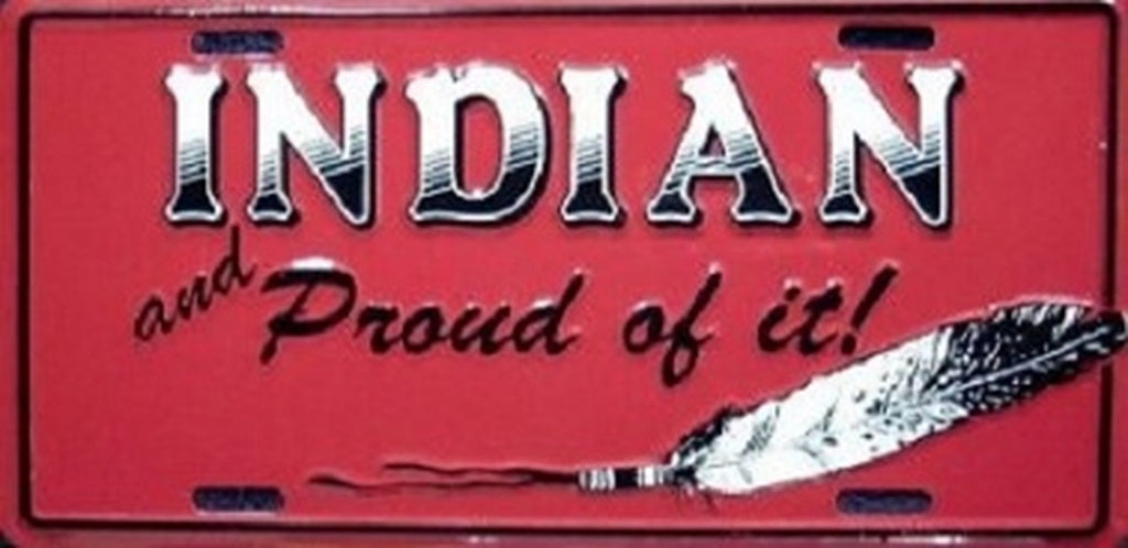 Indian Proud Novelty Number Plate