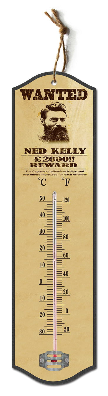 Ned Kelly Thermometer