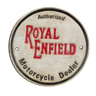 Royal Enfield Cast Iron Sign