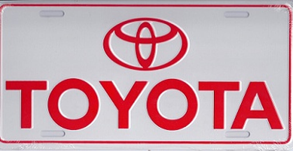 TOYOTA Logo Novelty Number Plate