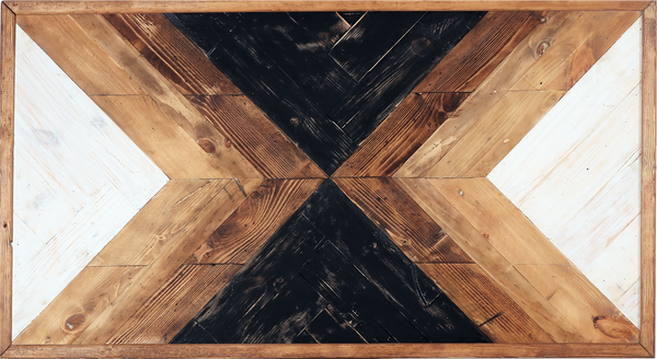 Rustic Wall Decor Geometric