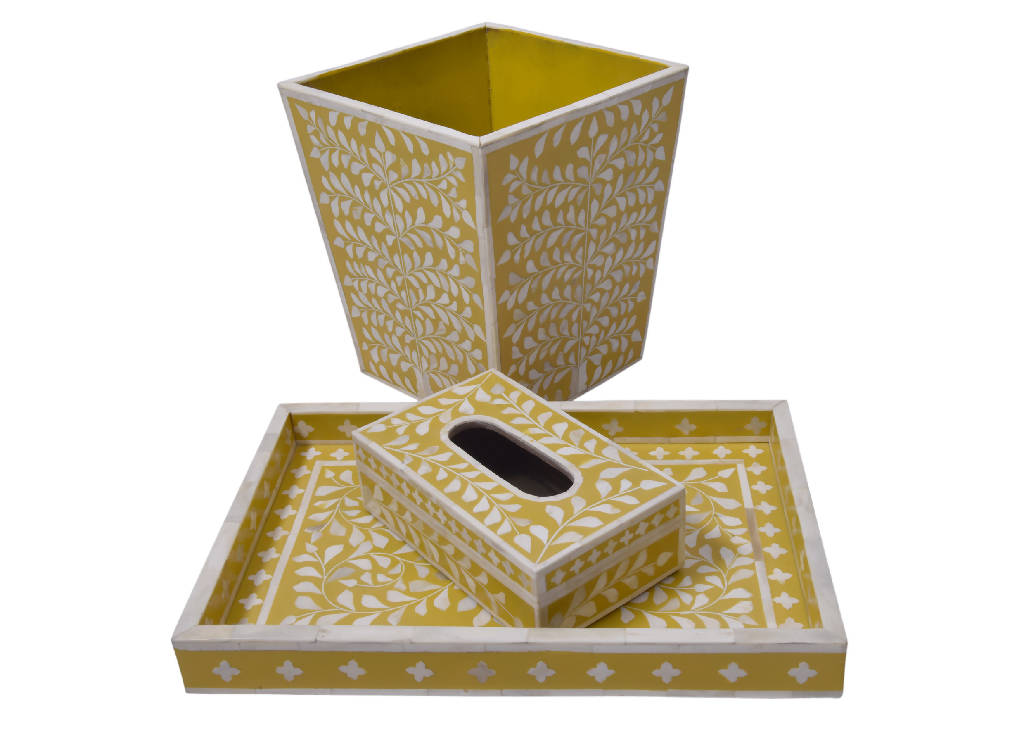 Bone Inlay Yellow (Set)