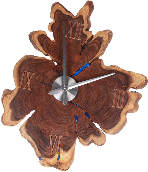 Tree Trunk Slice - Large Wall Clock